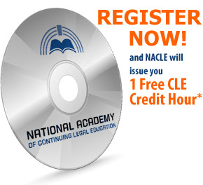 Buy online cle courses, 1 free cle credit when you register