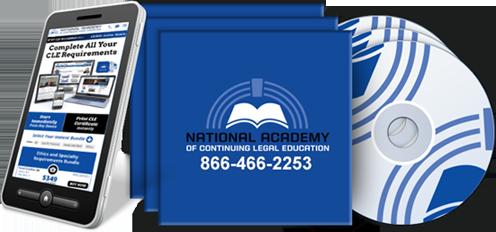 California MCLE Online, Audio CD, DVD, Mobile App | NACLE