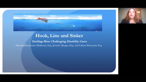 Hook, Line and Sinker: Tackling More Challenging Disability Cases Thumbnail