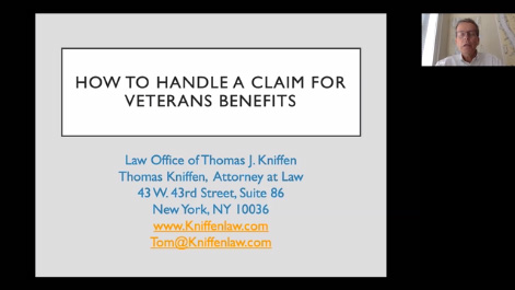 How to Handle a Claim for Veterans Benefits Thumbnail