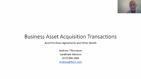 Business Acquisition Transactions: Helping Your Client Buy the Right Business on the Right Terms Thumbnail