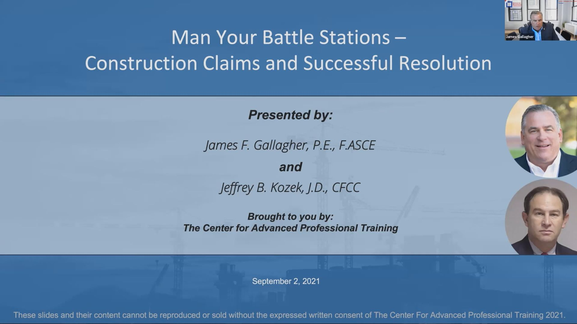 Man Your Battle Stations: Construction Claims & Successful Resolution Thumbnail