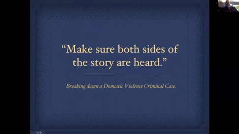 Make Sure Both Sides of the Story are Heard: Breaking Down a Domestic Violence Criminal Case Thumbnail