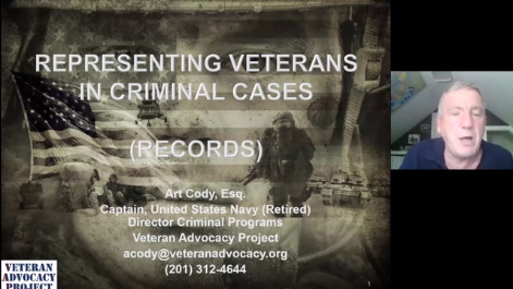 Representing Veterans in Criminal Court Thumbnail