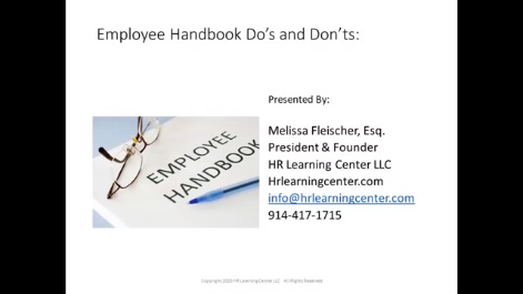 Employee Handbook Do's and Don'ts Thumbnail