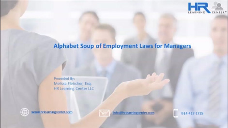 Alphabet Soup of Employment Laws Thumbnail