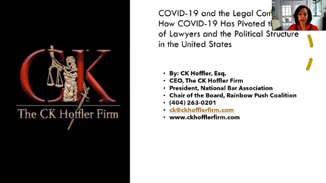 COVID-19 & the Legal Community: How COVID-19 Has Pivoted the Focus of Lawyers & the Political Structure in the US Thumbnail