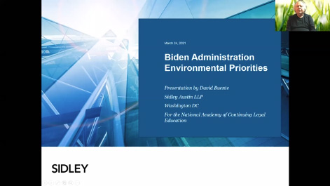 The Biden Administration Environmental Agenda Thumbnail