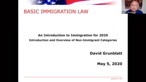 US Immigration Fundamentals Day 1: Non-Immigrants; Employment-Based: Pandemic, Politics, Confusion Thumbnail