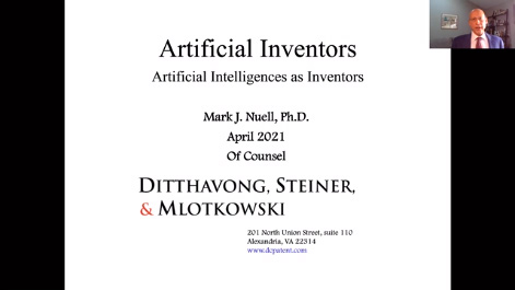 Legal Issues Relating to Artificial Intelligence and Inventions Thumbnail