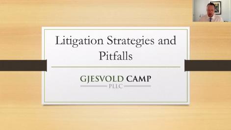 Litigation Strategies and Pitfalls Thumbnail