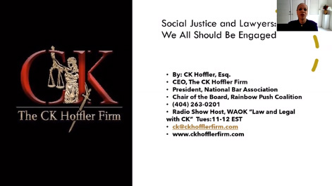 Attorney Professionalism and Social Justice: Why We All Should Be Engaged Thumbnail
