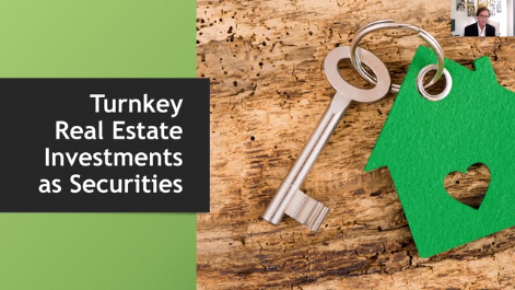 Turnkey Real Estate Investments as Securities Thumbnail