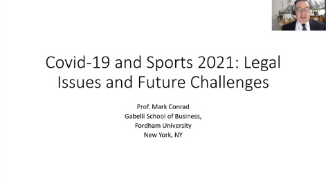 Covid-19 and Sports 2021: Legal Issues and Future Challenges Thumbnail