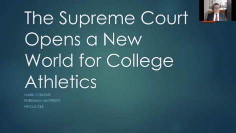 The Supreme Court Opens a New World of College Athletics Thumbnail