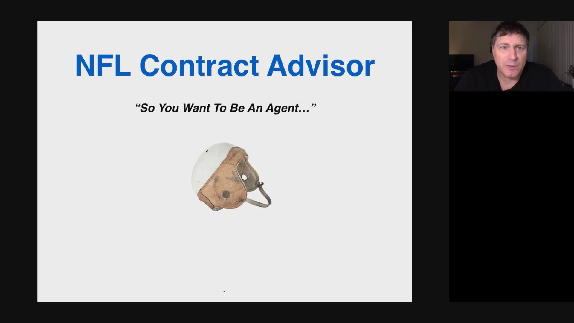 NFL Contract Advisors: So You Want to  Be An Agent Thumbnail