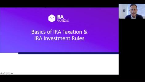 Basics of IRA Taxation & Investment Rules Thumbnail