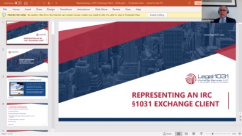 Representing the 1031 Tax Free Exchange Client, Including Recent Deadline Extensions Thumbnail