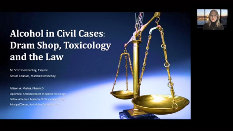 Dram Shop,  The Toxicology and the Law Thumbnail