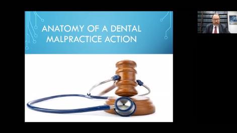Anatomy of a Dental Malpractice Action Thumbnail